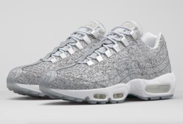 "8月13日国内発売予定 Nike Air Max 95 ""Platinum"""