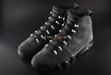 "国内9月上旬発売決定 Air Jordan 9 ""Anthracite""  Photos"