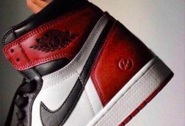 """リーク!!Fragment x Air Jordan 1 """"Black Toe"""""""