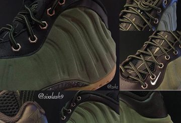 国内9月26日発売! AIR FOAMPOSITE ONE PREMIUM 575420-200 MEDIUM OLIVE/VELVET BROWN-BLACK-LIGHT BONE