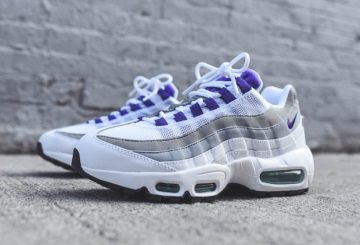 "レディースモデル WMNS Nike Air Max 95 ""Grape"""