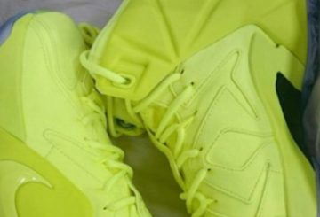 "国内8月28日発売 Nike LeBron 12 EXT ""Tennis Ball"""