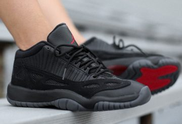 "国内9月末発売! Air Jordan 11 Low IE ""Referee"" on Feet 306008-003"