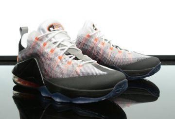 10月9日発売! Nike Air Max '95 LeBron 12 Low QS  Wolf Grey/White-Team Orange-Black 822829-444 レブロン12