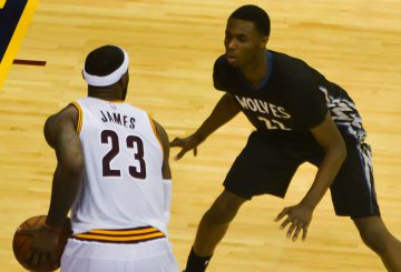MOVIE!! 新人王   Andrew Wiggins Rookie  Highlights ADIDAS 2015.01.31 vs Cavaliers – Career-HIGH 33 Pts, Going at LeBron!