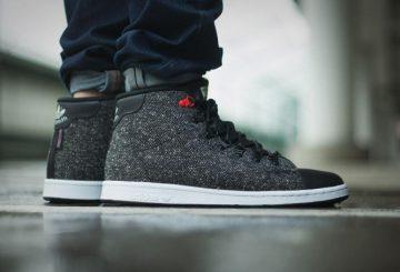 """厳寒の地でも!adidas Stan Smith(アディダス スタンスミス) Winter Mid """"Core Black"""""""