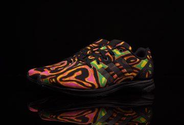 adidas ZX Flux dressed by Jeremy Scott