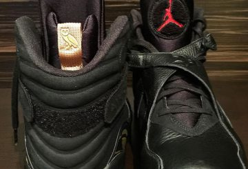 "Air Jordan 8 OVO ""Black"""