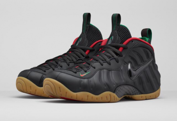 """Nike Air Foamposite Pro """"Gucci"""" Official Images"""