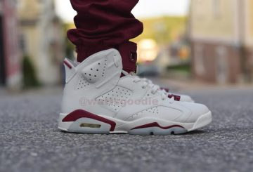 "10月発売予定!! 2015 Air Jordan 6 OG ""Maroon"" On Feet movie"