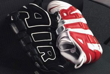 動画!NIKE MORE UPTEMPO 'Olympic' & BLACK