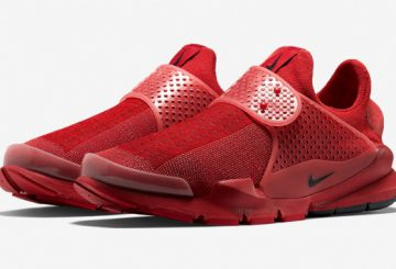 やはり赤は人気!movie! Nike Sock Dart Red Independence Day Pack Review + On Foot fragment