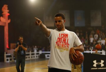 中国は半端ない!!Stephen Curry's Under Armour tour in Beijing