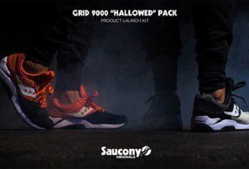 ユニセックス★ HALLOWED PACK  SAUCONY  GRID 9000 【サッカニー】