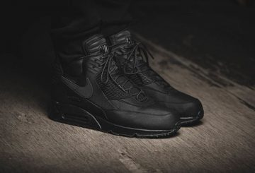 Nike Air Max 90 Sneakerboot Winter (schwarz / schwarz) 684714-002【エアマックス90 スニーカーブーツ】