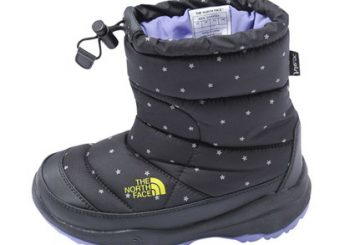 "XGS×THE NORTH FACE TODDLER NUPTSE BOOTIE STARS(17~22CM)限定アイテムも用意!fashion site ""calif"" renewal open"