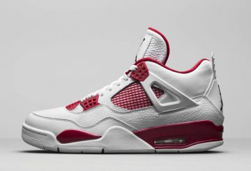 "GSもあり?2016年発売予定★MOVIE★Air Jordan 4 ""Alternate '89 ""White/Black-Gym Red 308497-104"