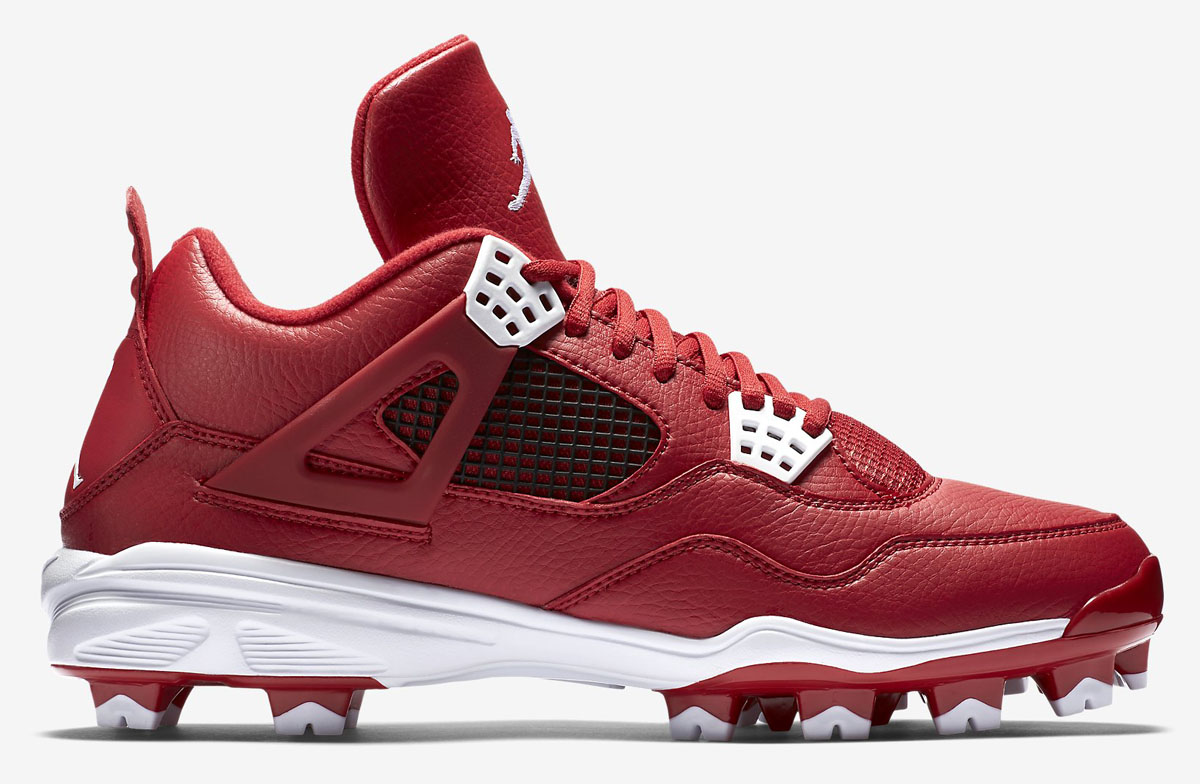 air-jordan-4-cleats-gym-red-white-1
