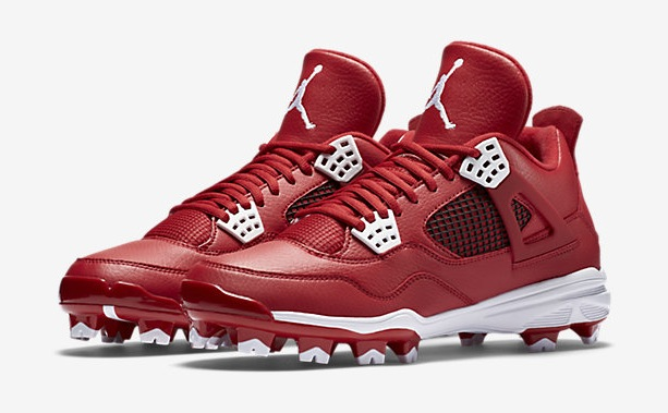 air-jordan-4-cleats-gym-red-white