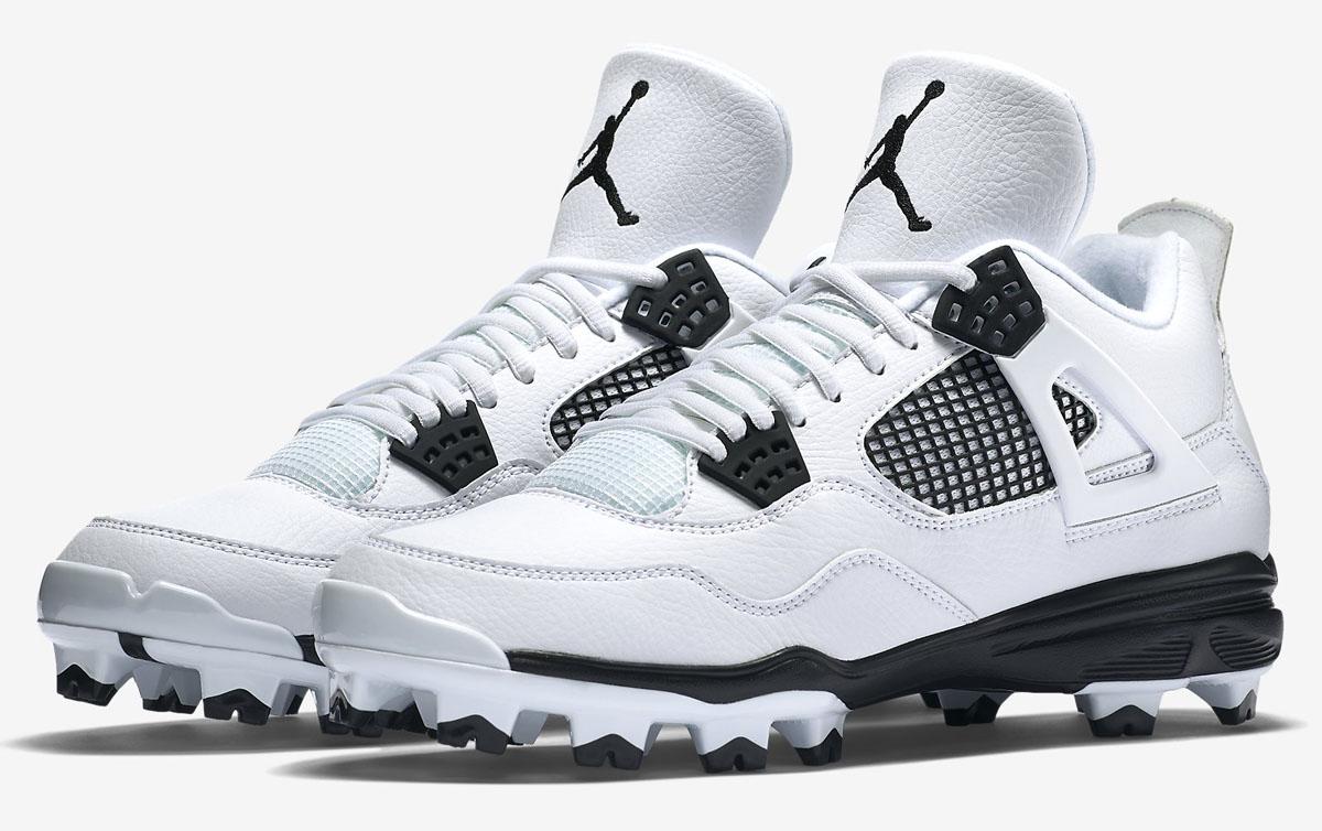 air-jordan-4-cleats-white-black