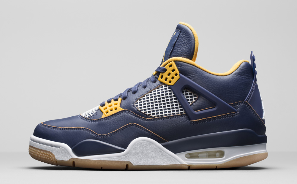 air-jordan-4-navy-gold-dunk-from-above-1