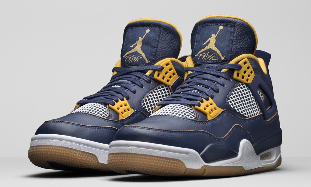 air-jordan-4-navy-gold-dunk-from-above