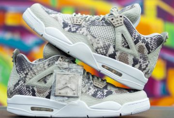"リーク!2016発売?Air Jordan 4 Pinnacle ""Snakeskin"" Sample"