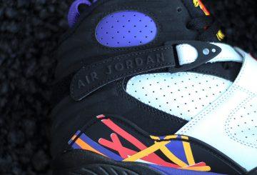 MOVIE★ Air Jordan 8 '3-Peat' Detailed Sneaker Review
