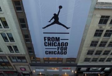 今月オープン!Michael Jordan's New Chicago Store Opens