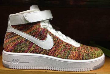 "Nike Flyknit Air Force 1 ""Multicolor"""