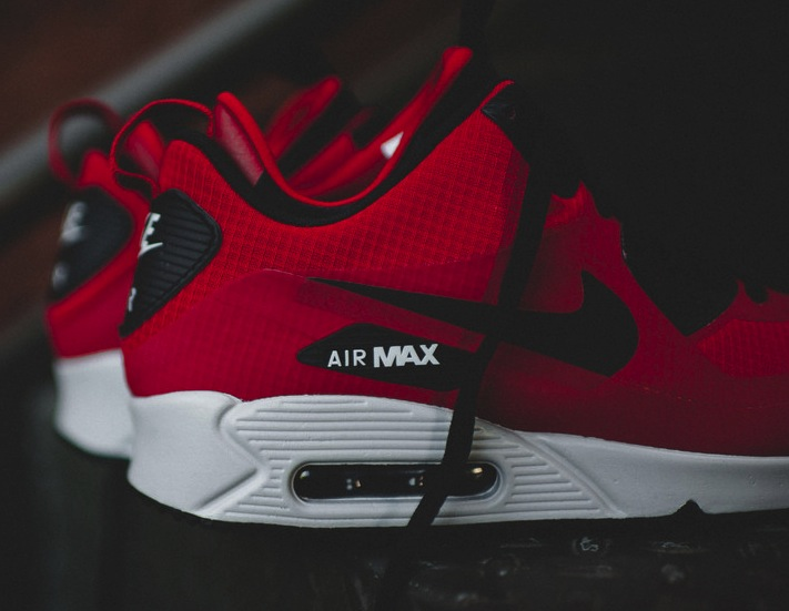 """Nike Air Max 90 Mid Winter """"Gym Red"""