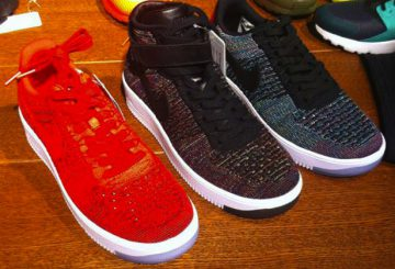 LOWカットも★ Nike Flyknit Air Force 1 Low