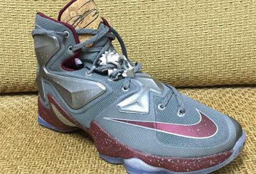 "Nike LeBron 13 ""Wine"" 【ナイキ レブロン13】"