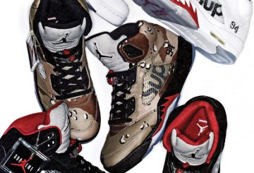 SUPREME×AIR JORDAN5 MOVIE集