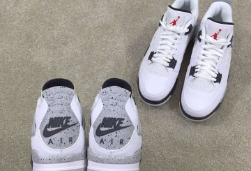 "MOVIE★ Air Jordan 4 OG '89 ""White Cement"" 【エアジョーダン4】"