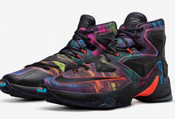 "国内情報★LEBRON XIII ""THE AKRONITE PHILOSOPHY""(807219-008)【ナイキ レブロン13】"