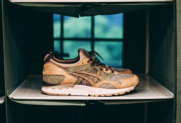 追記国内12月5日発売★ASICS Tiger x SBTG x KICKS LAB. GEL-LYTE V SAND/GREEN/BROWN