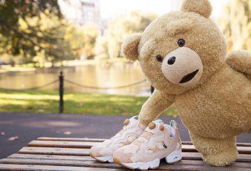 "MOVIEも!11月7日追記★海外11月14日発売★BAIT x Ted 2 x Reebok Insta Pump Fury【ポンプフューリー ""テッド""】"