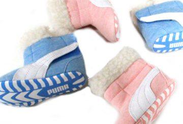 クリスマスプレゼントに★PUMA BABY BOOT FUR プーマ ベビーブーツ ファー 355185