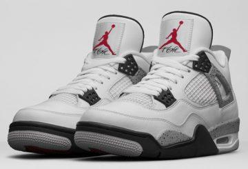 """オフィシャル画像♪2月13日発売★ NIKE Air Jordan 4 """"White Cement""""(308496-104)【ナイキ エアジョーダン4 ホワイトセメント】"""