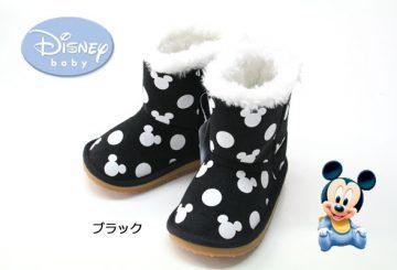 クリスマスセール★ディズニー ムートンブーツ靴  ミッキー ミニー  防寒 キッズブーツ  Disney