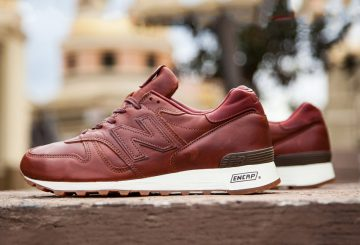 海外展開中★NEW BALANCE  1300 EXPLORE  HORWEEN LEATHER – MADE IN USA (BROWN)【ニューバランス 1300】