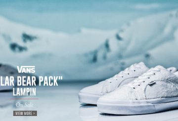 """BILLY'S限定★シロクマ(ホッキョクグマ)3部作★VANS """"POLAR BEAR PACK"""" BILLY'S ENT EXCLUSIVE(バンズ )ユニセックス対応"""