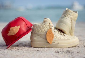 "5月20日★リストック予定★1月30日発売♪ 詳細画像★Don C x NIKE Air Jordan 2 ""Beach"""