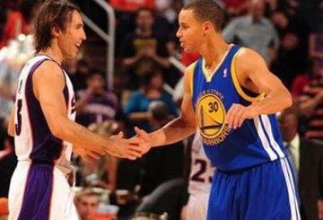 MOVIE★  Career Assists of Steve Nash & NBA ALLSTAR 2015 Stephen Curry  Skills Challenge 【スティーブ・ナッシュ& ステフィン・カリーNBAオールスター スキルチャレンジ】