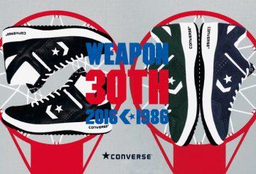 CONVERSE WEAPON30周年特設サイトオープン!!【コンバース ウエポン】ueponn