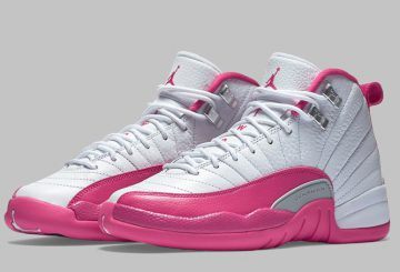 国内2月20日発売予定★nike Air Jordan 12 GG 510815-109  Dynamic Pink