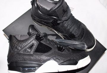 3月26日発売予定★nike Air Jordan 4 Retro Premium Black/Black-Sail 819139-010 [ナイキ エアジョーダン 4 プレミアム]