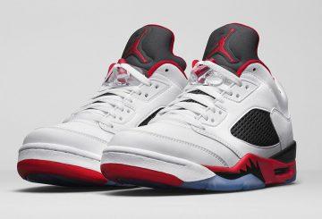 """国内3月12日発売★NIKE Air Jordan 5 Low """"Fire Red"""""""