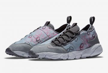 "販路追記★4月2日発売★Nike Air Footscape Motion Retro ""Sakura"" Cool Grey/Cool Grey-Dark Grey-Pink Blast-Pure Platinum 846786-002 【ナイキ フットスケープモーション レトロ】"